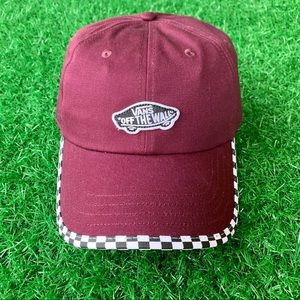 Vans Checkerboard Bill Hat